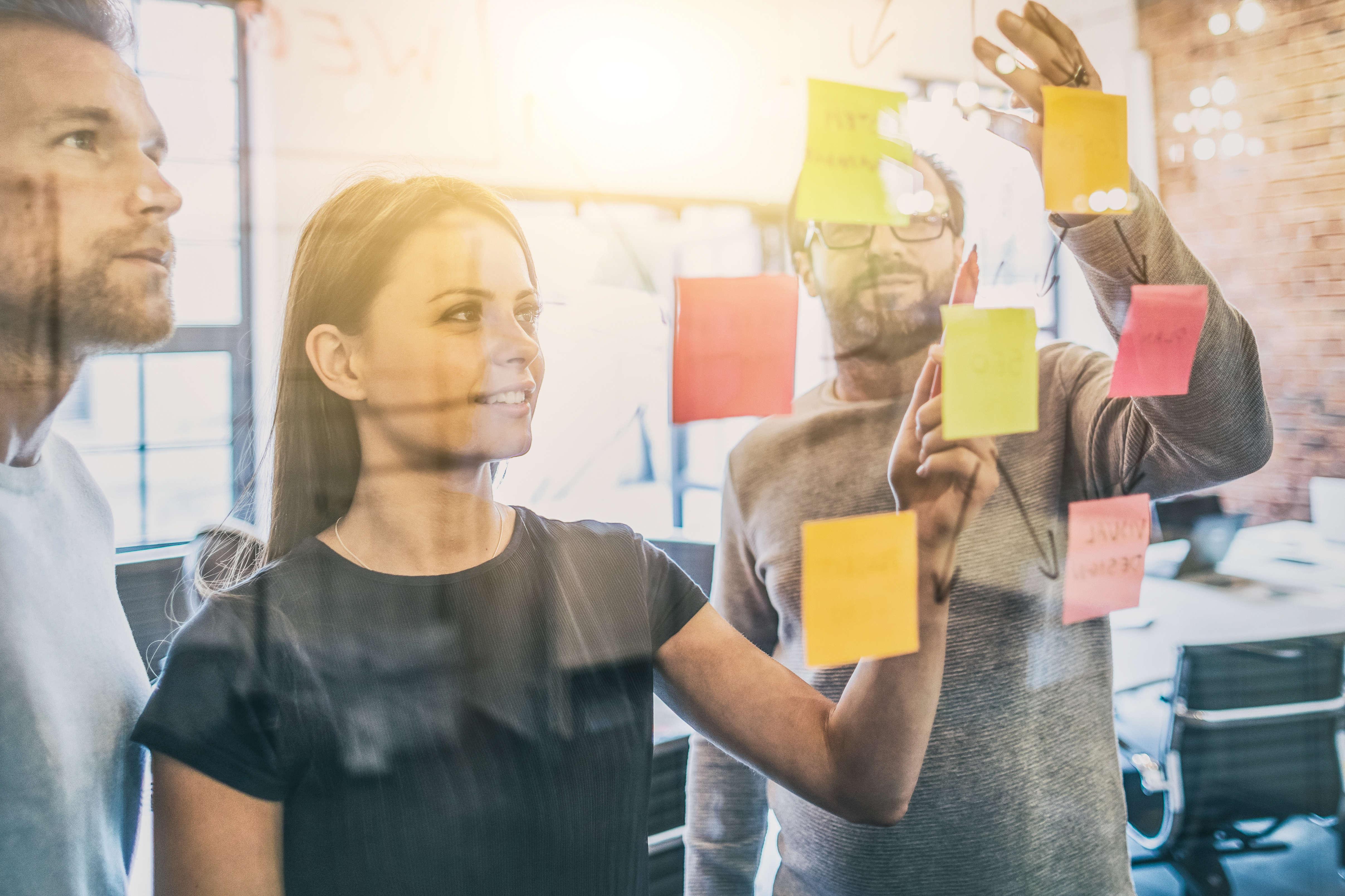 creative business people