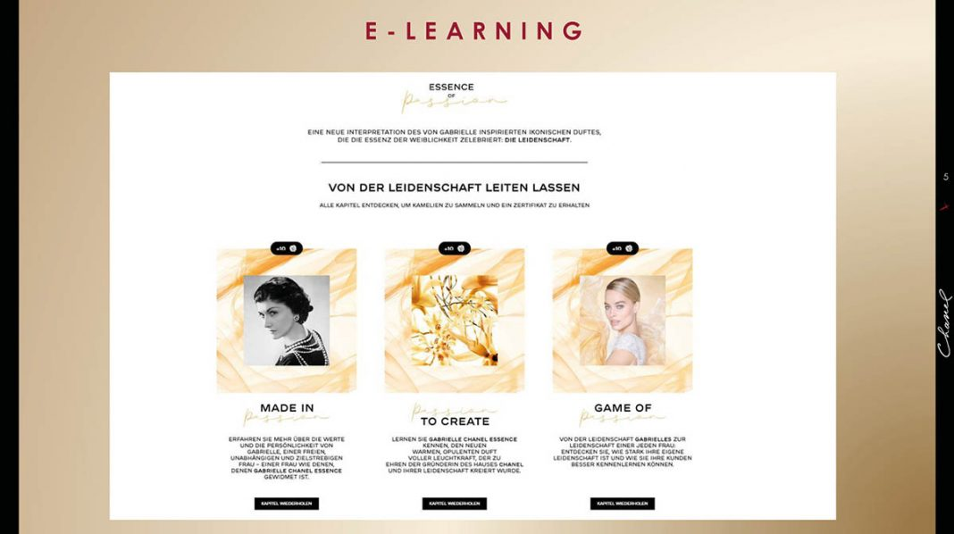 eLearning Journal AWARD 2020 Chanel