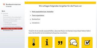 eLearning Journal AWARD 2020 Innenministerium Österreich