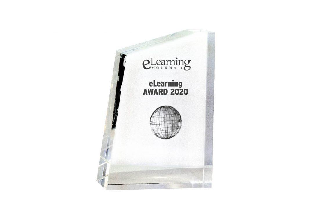 eLearning AWARD 2020 Pokal