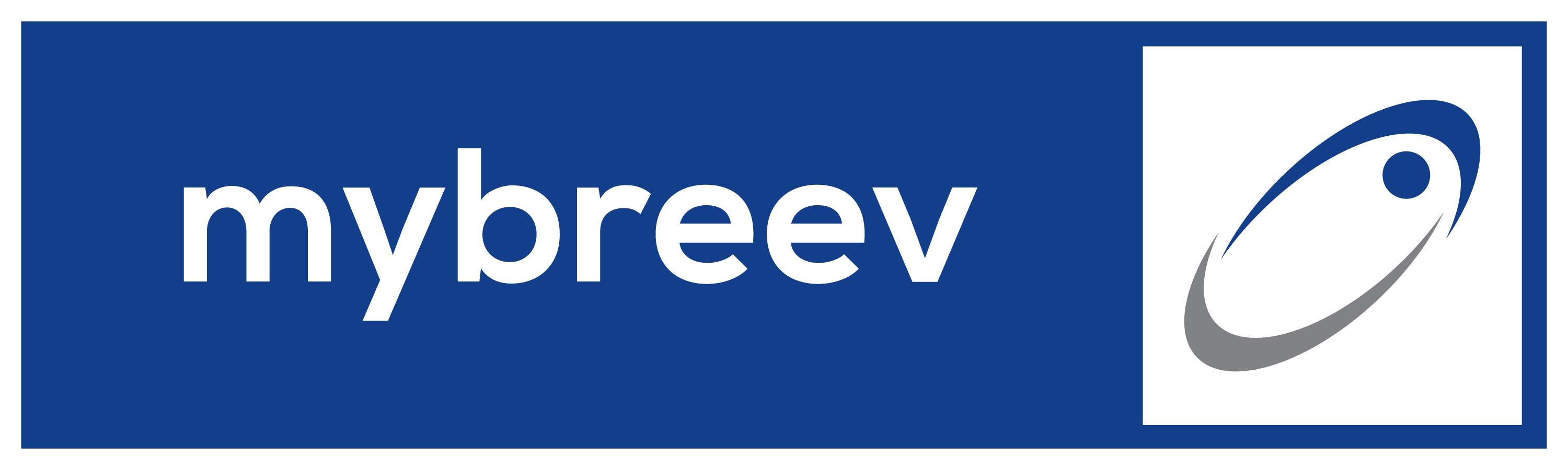 Mybreev Logo Design High Resolution