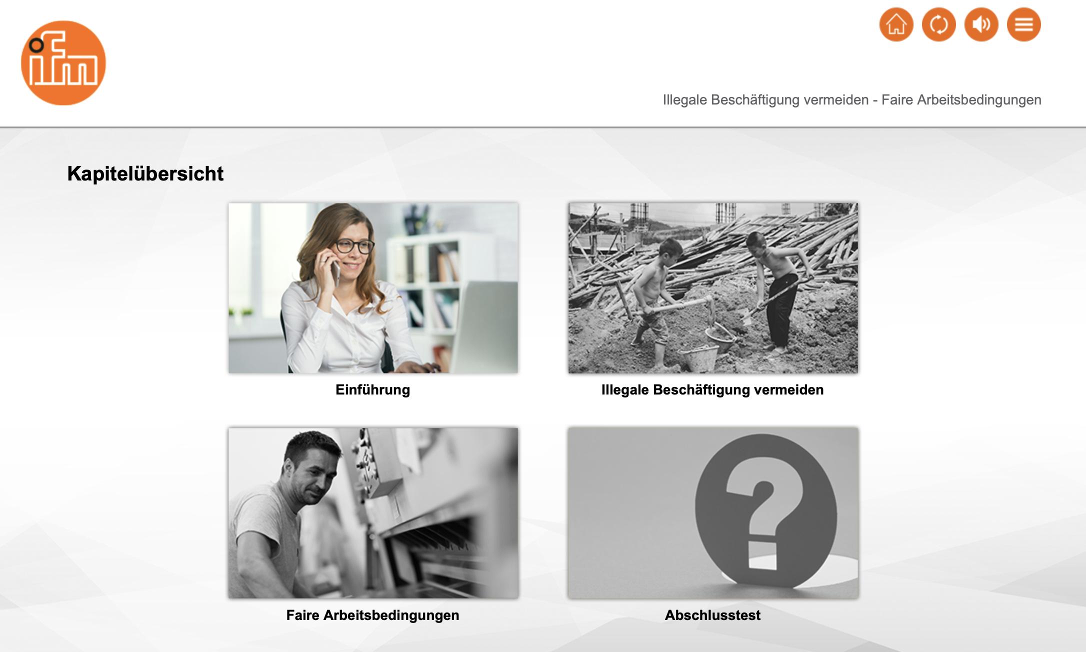 Faire Arbeitsbedingungen: ifm electronic gmbh schult mit einem Lernprogramm von M.I.T e-Solutions GmbH